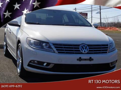 2013 Volkswagen CC for sale at RT 130 Motors in Burlington NJ