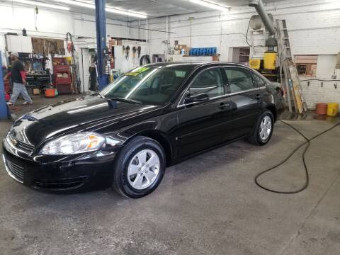 2007 Chevrolet Impala for sale at DALE'S AUTO INC in Mt Clemens MI