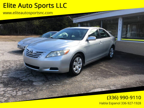 2007 Toyota Camry for sale at Elite Auto Sports LLC in Wilkesboro NC