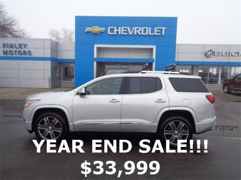 2018 GMC Acadia for sale at Finley Motors in Finley ND