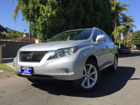 2010 Lexus RX 350 for sale at Valley Coach Co Sales & Lsng in Van Nuys CA