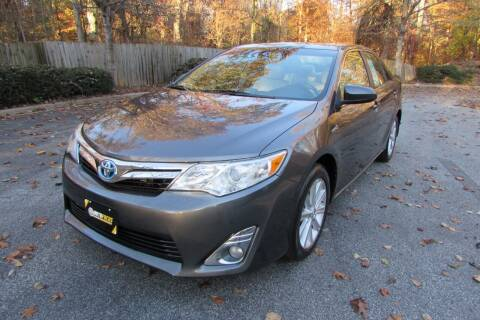 2013 Toyota Camry Hybrid for sale at AUTO FOCUS in Greensboro NC