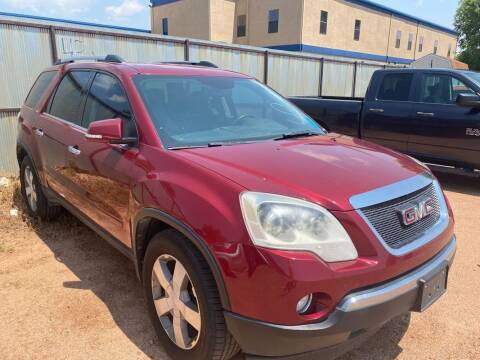 2011 GMC Acadia for sale at Street Smart Auto Brokers in Colorado Springs CO