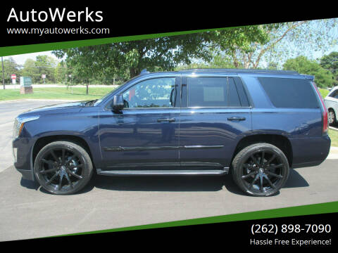 2019 Cadillac Escalade for sale at AutoWerks in Sturtevant WI