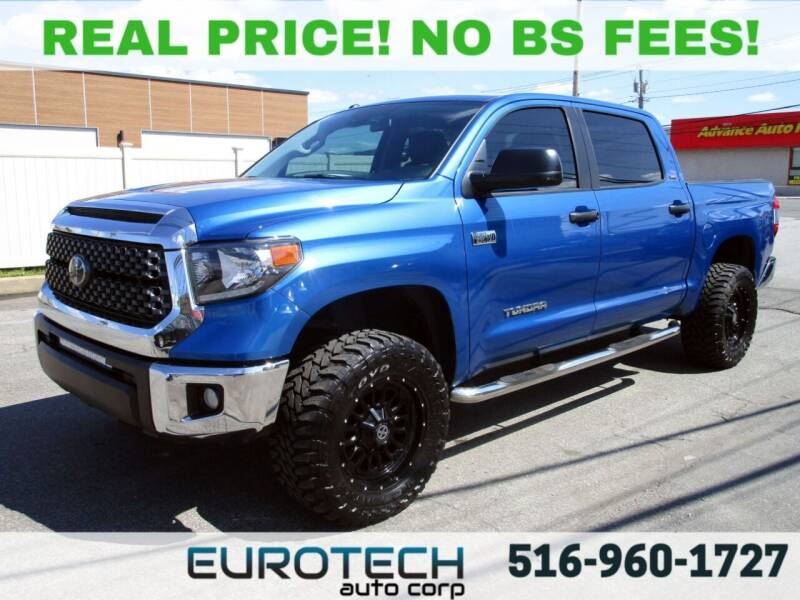 2018 Toyota Tundra for sale at EUROTECH AUTO CORP in Island Park NY