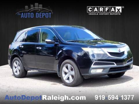 2012 Acura MDX for sale at The Auto Depot in Raleigh NC