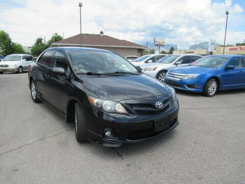 2013 Toyota Corolla for sale at Crown Auto in South Salt Lake UT