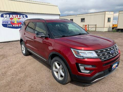 2017 Ford Explorer for sale at Praylea's Auto Sales in Peyton CO