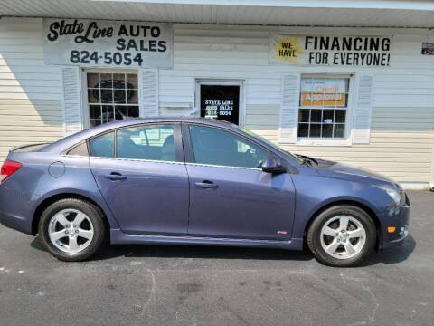 2014 Chevrolet Cruze for sale at STATE LINE AUTO SALES in New Church VA
