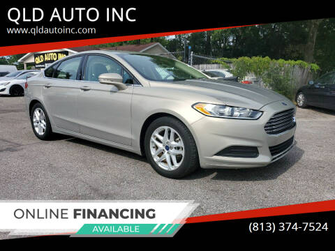 2015 Ford Fusion for sale at QLD AUTO INC in Tampa FL