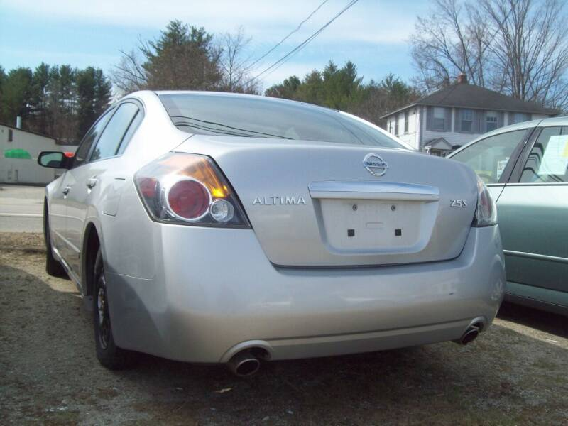 2008 Nissan Altima for sale at Frank Coffey in Milford NH