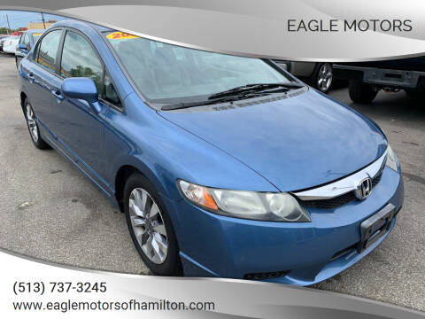2009 Honda Civic for sale at Eagle Motors in Hamilton OH