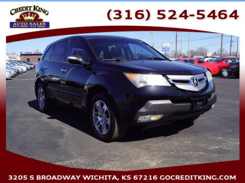 2008 Acura MDX for sale at Credit King Auto Sales in Wichita KS