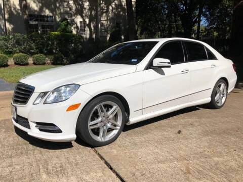 2013 Mercedes-Benz E-Class for sale at Texas Auto Corporation in Houston TX