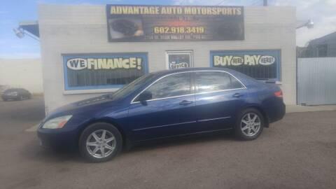 2003 Honda Accord for sale at Advantage Motorsports Plus in Phoenix AZ