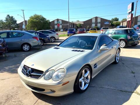 2003 Mercedes-Benz SL-Class for sale at Car Gallery in Oklahoma City OK