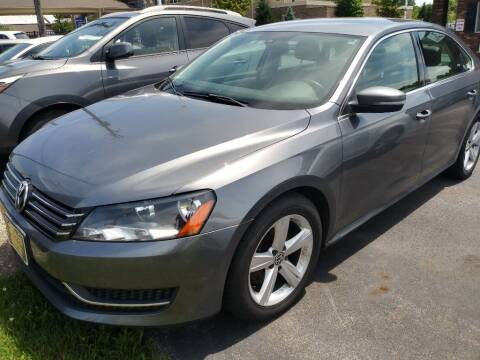 2013 Volkswagen Passat for sale at ENZO AUTO in Parma OH