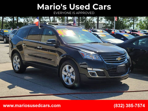 2017 Chevrolet Traverse for sale at Mario's Used Cars in Houston TX