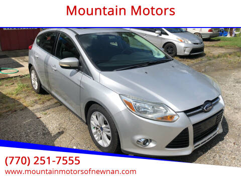 2012 Ford Focus for sale at Mountain Motors in Newnan GA