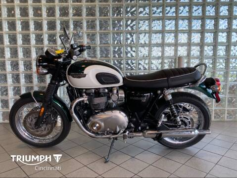 2018 Triumph Bonneville T120 for sale at TRIUMPH CINCINNATI in Cincinnati OH