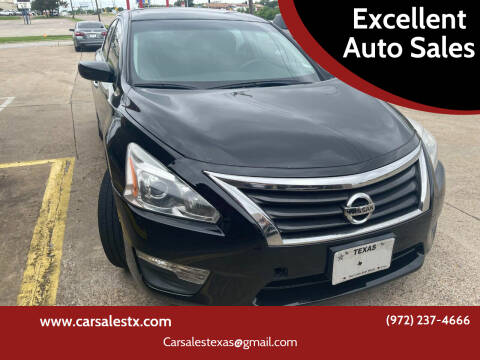 2013 Nissan Altima for sale at Excellent Auto Sales in Grand Prairie TX