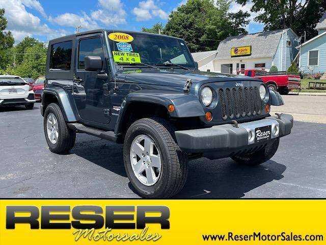 2008 Jeep Wrangler for sale at Reser Motorsales in Urbana OH