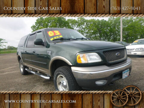 2003 Ford F-150 for sale at Country Side Car Sales in Elk River MN