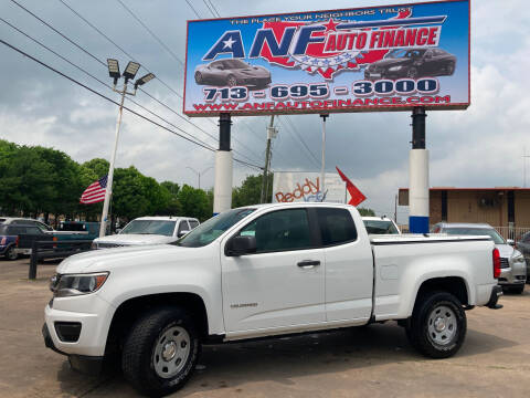 2015 Chevrolet Colorado for sale at ANF AUTO FINANCE in Houston TX