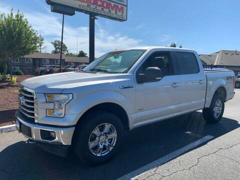 2017 Ford F-150 for sale at South Commercial Auto Sales in Salem OR