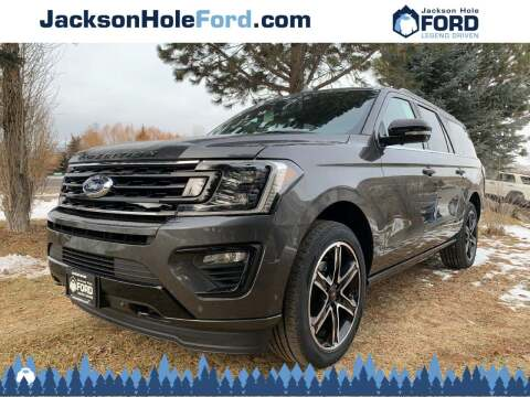 2020 Ford Expedition MAX for sale at Jackson Hole Ford of Alpine in Alpine WY