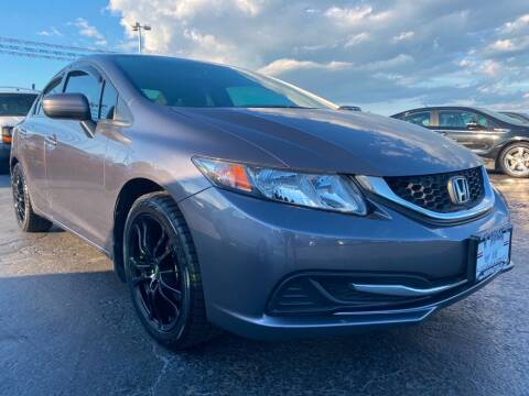 2015 Honda Civic for sale at VIP Auto Sales & Service in Franklin OH