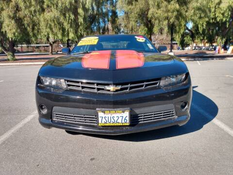 2015 Chevrolet Camaro for sale at ALL CREDIT AUTO SALES in San Jose CA