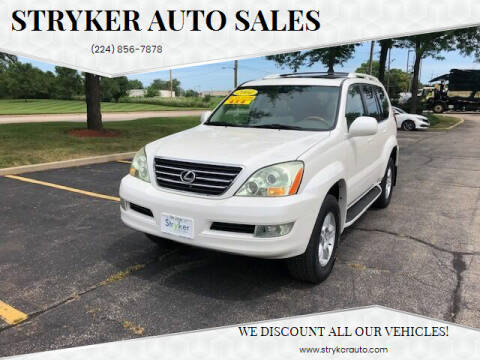 2004 Lexus GX 470 for sale at Stryker Auto Sales in South Elgin IL