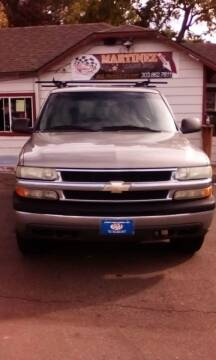2003 Chevrolet Tahoe for sale at Martinez Cars, Inc. in Lakewood CO