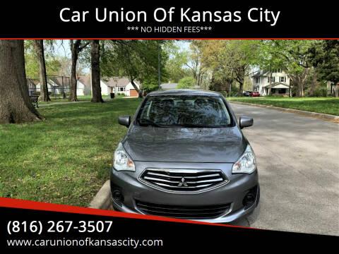 2017 Mitsubishi Mirage G4 for sale at Car Union Of Kansas City in Kansas City MO