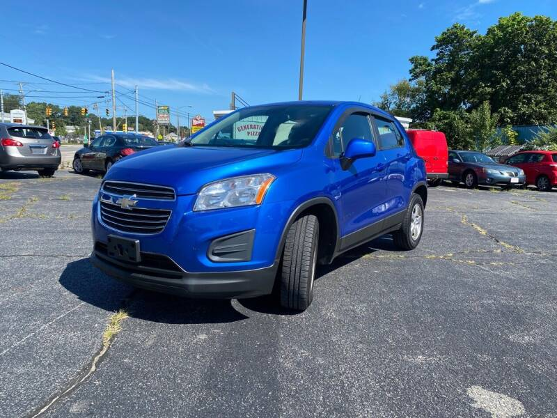 2015 Chevrolet Trax for sale at M & J Auto Sales in Attleboro MA
