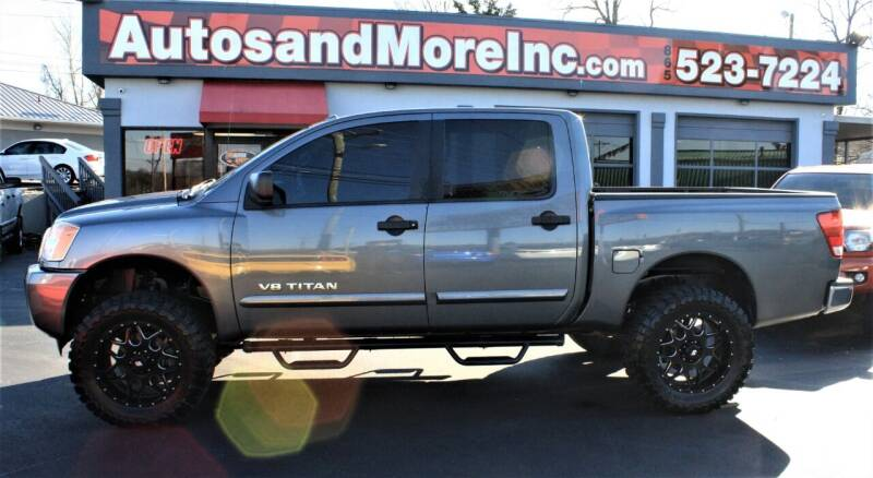 2013 Nissan Titan for sale at Autos and More Inc in Knoxville TN
