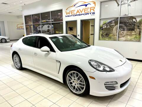 2010 Porsche Panamera for sale at Weaver Motorsports Inc in Cary NC