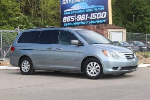 2008 Honda Odyssey for sale at Skyline Motors in Louisville TN