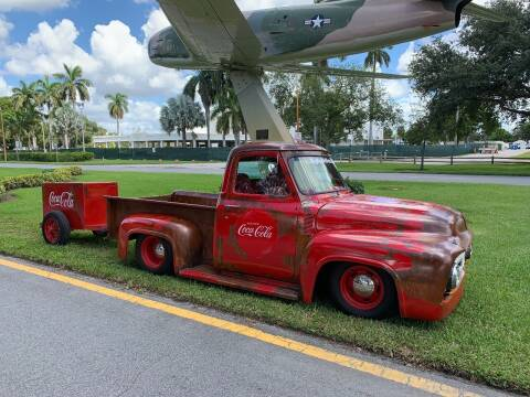 1955 Ford F-100 for sale at BIG BOY DIESELS in Fort Lauderdale FL