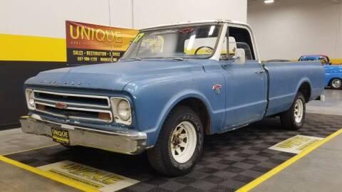 1967 Chevrolet C/K 10 Series for sale at UNIQUE SPECIALTY & CLASSICS in Mankato MN