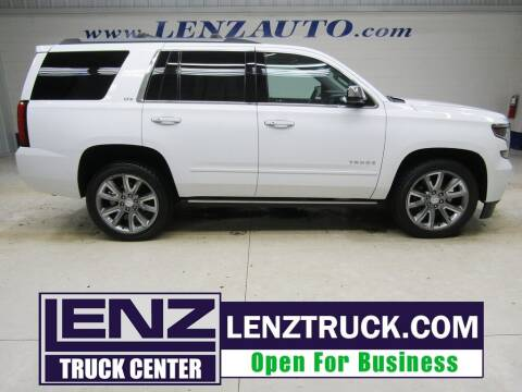 2016 Chevrolet Tahoe for sale at LENZ TRUCK CENTER in Fond Du Lac WI