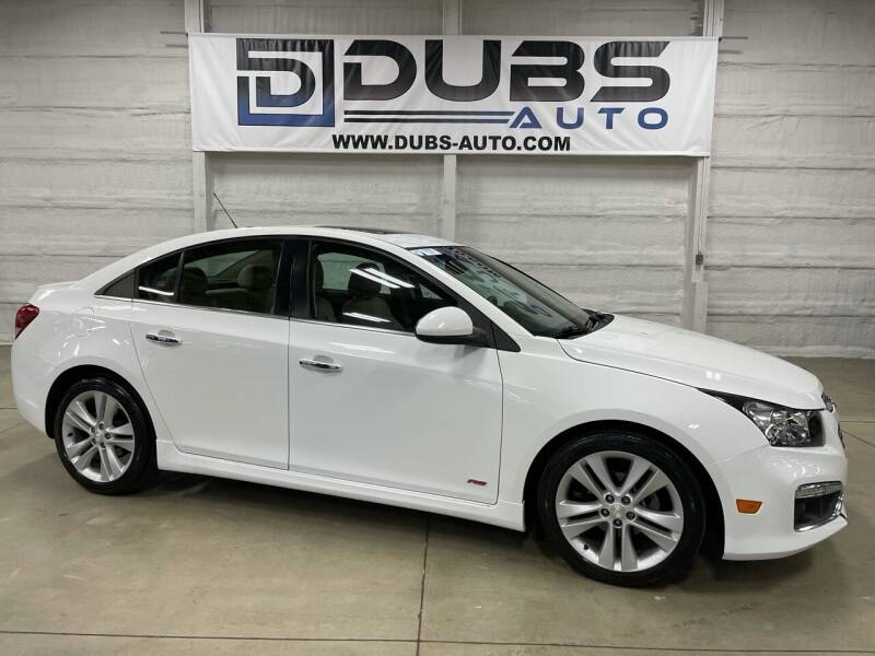 2015 Chevrolet Cruze for sale at DUBS AUTO LLC in Clearfield UT