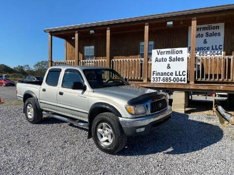2002 Toyota Tacoma for sale at Vermilion Auto Sales & Finance in Erath LA