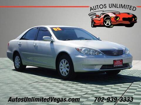2005 Toyota Camry for sale at Autos Unlimited in Las Vegas NV