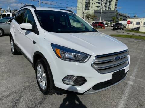 2018 Ford Escape for sale at MIAMI AUTO LIQUIDATORS in Miami FL