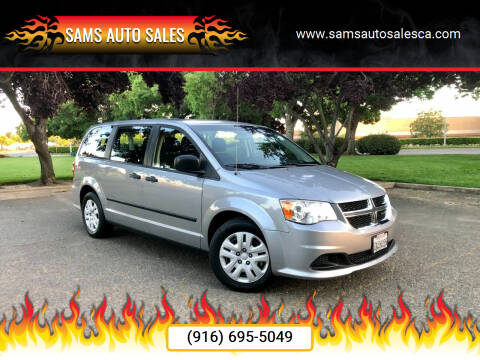 2014 Dodge Grand Caravan for sale at Sams Auto Sales in North Highlands CA