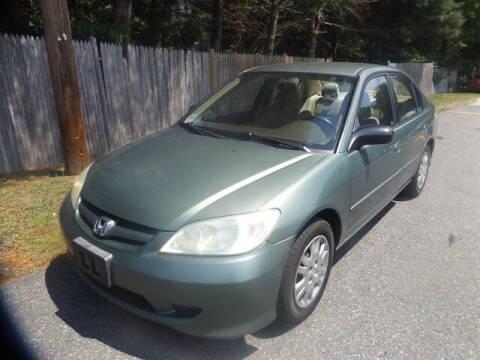 2004 Honda Civic for sale at Wayland Automotive in Wayland MA