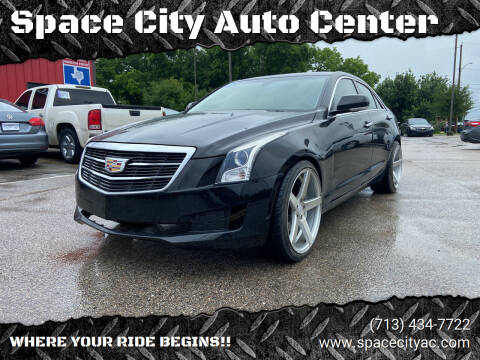 2016 Cadillac ATS for sale at Space City Auto Center in Houston TX