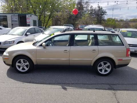 2004 Volkswagen Passat for sale at Howe's Auto Sales in Lowell MA